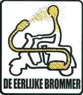 Dürüst Mopet! - Hollanda'da bisiklet yollarına giren mopetlere karşı protesto olarak kullanılan bir sticker... | 2012